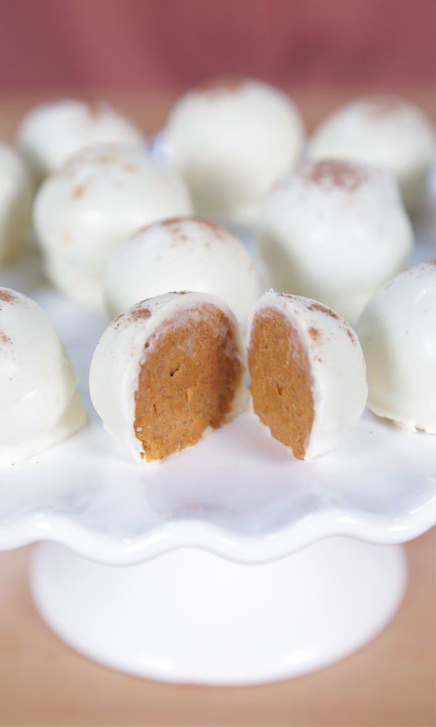 No-Bake Pumpkin Pie Truffles