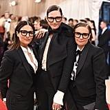 Pictured: Jenna Lyons, lena Dunham, and Jenni Konner