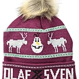Disney Juniors Frozen Olaf and Sven Intarsia Beanie