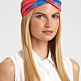 This colorful Marc by Marc Jacobs Twist Turban Headband ($78) stands out with all hair lengths.