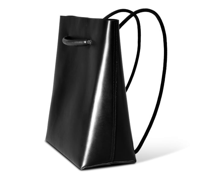 The Killspencer M-22  ($475) is like the animorph of the bag world. It transforms from a tote bag to a backpack, which makes it ideal for both work and play. So no matter where I'm headed after a day at the office, I can toss it over my shoulder and go. — AM