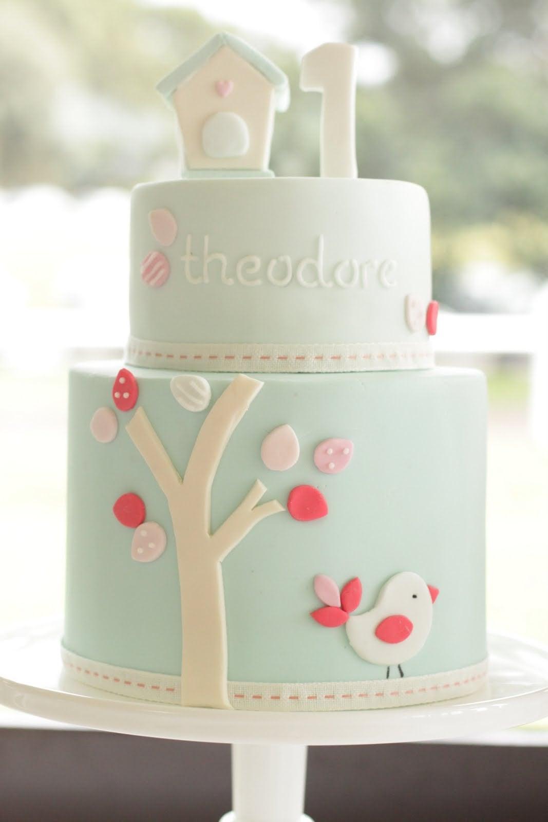 My Little Love Bird Cake