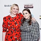 Beanie Feldstein and Greta Gerwig Reunite at Film Festival