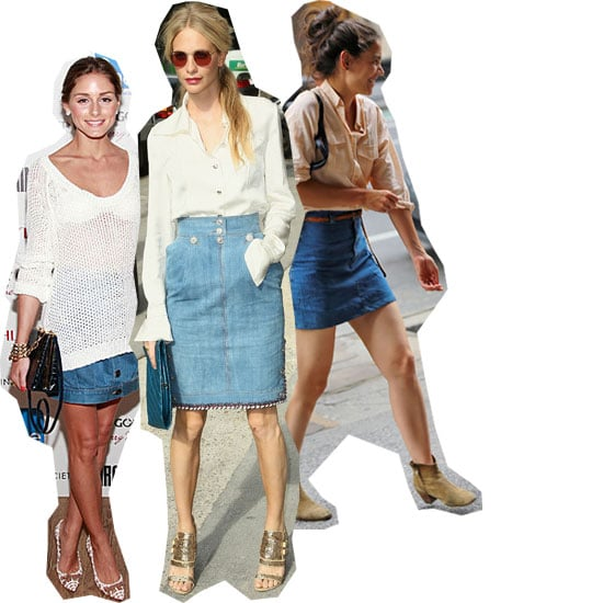 We Heart Poppy Delevingne's Chanel Denim Skirt: How To Wear and Where To Buy Similar Online