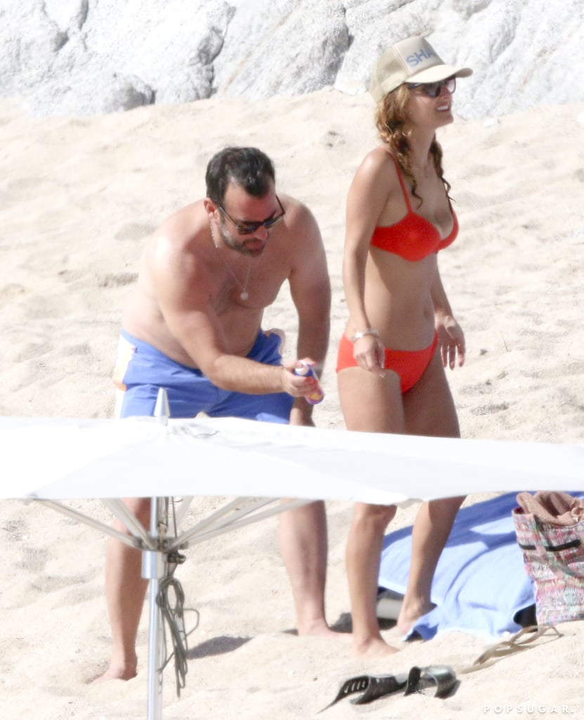 Giada De Laurentiis Wearing Red Bikini in Mexico 2016