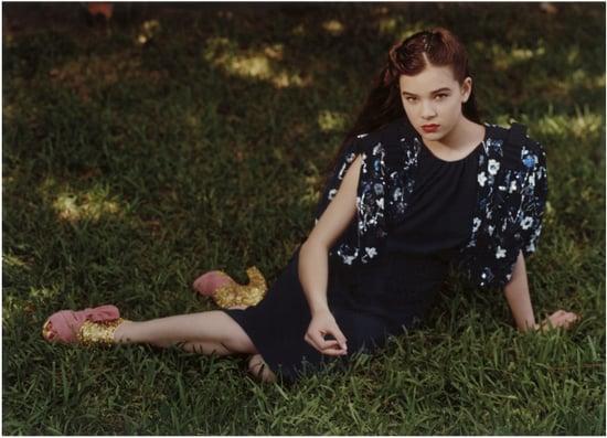 Hailee Steinfeld Debuts in Miu Miu Fall 2011 Ad Campaign 2011-06-29 07:57:04