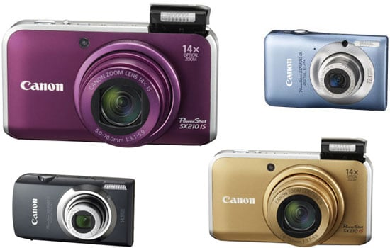 Canon Rolls Out Four New Powershots and Announces New T2i DSLR