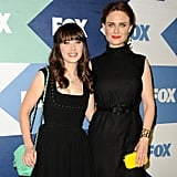Sisters and Fox stars Zooey (New Girl) and Emily Deschanel (Bones) will present together.
