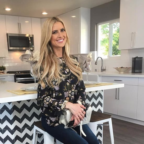 Christina El Moussa's Bold Kitchen Counter Design