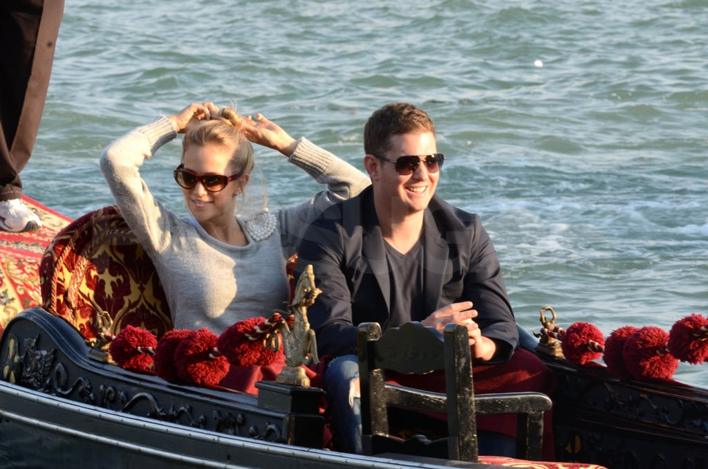 Michael Bublé and Luisana Lopilato Are Smooth Sailing Through Their Italian Honeymoon