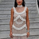 Cheryl Cole's White Dress Cannes Film Festival 2018