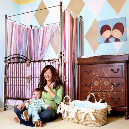Inside Two Celebrity Baby Nurseries - YouTube