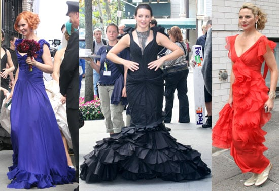 Battle of the Zac Posen: Miranda vs. Charlotte vs. Samantha