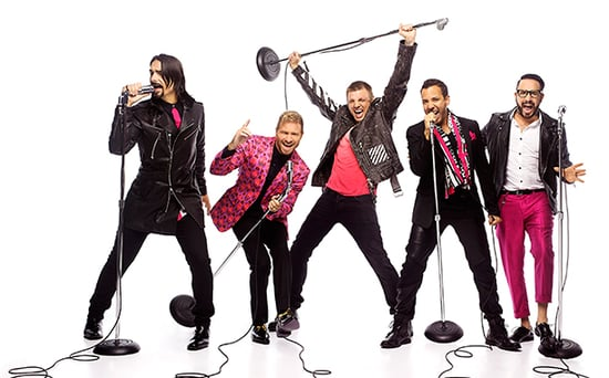 Vegas Baby! The Backstreet Boys Are Officially Hitting the Strip