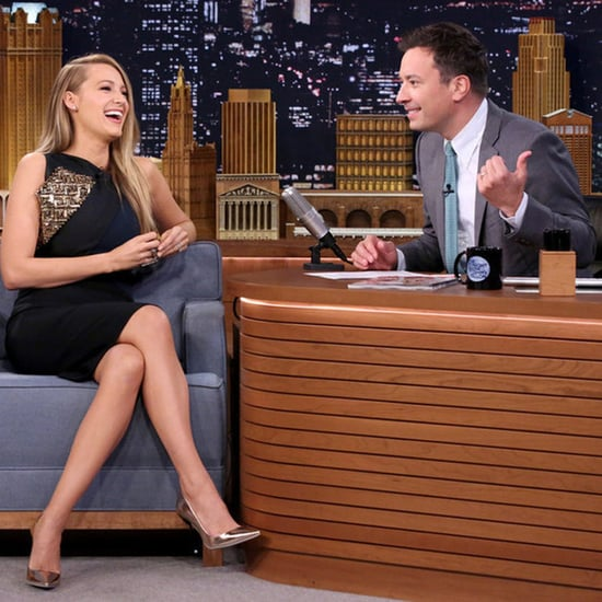 Blake Lively Interview With Jimmy Fallon