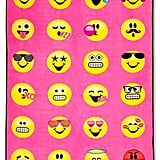 Emoji Pink Bed Blanket