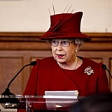 The queen made a speech during a multifaith reception to mark her Diamond Jubilee.