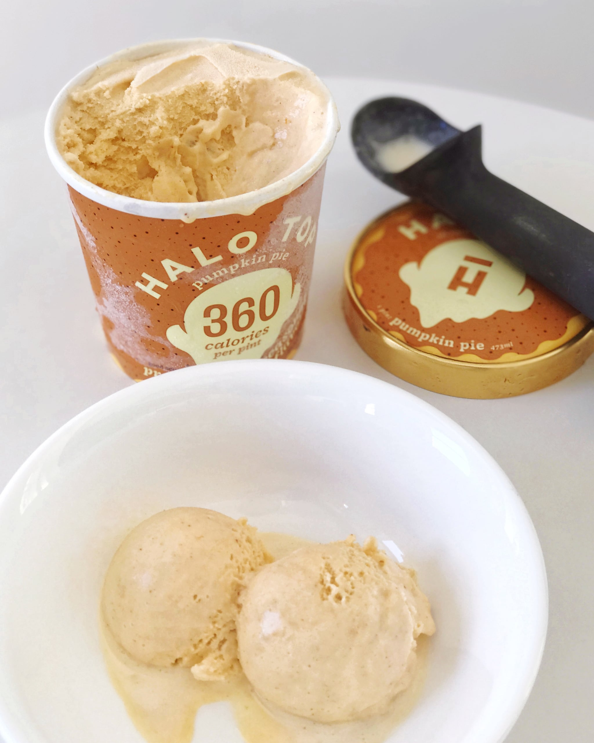 Image result for pumpkin pie halo top