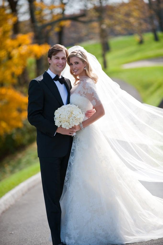 Ivanka Trumps Wedding Dress Popsugar Fashion