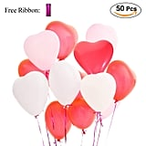 Heart Balloon 50 Pack