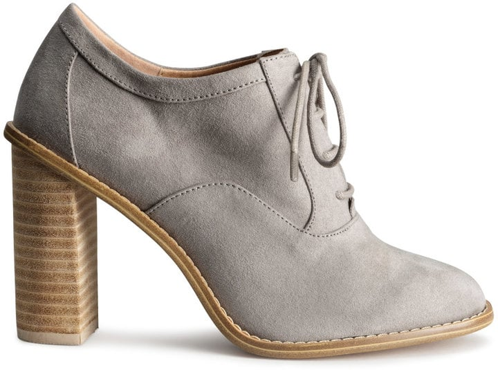 H&M High-Heeled Lace-Up Shoes