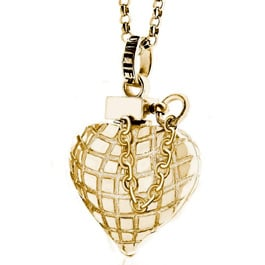 Found! Amy Winehouse's Heart Grenade Necklace
