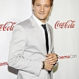 Jeremy Renner attended the CinemaCon awards ceremony.
