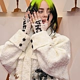 Billie Eilish's White Chanel Tweed Suit at the 2020 Oscars