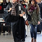 Tim McGraw landed in London with his family.