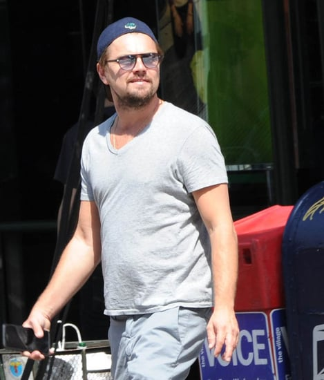 Leonardo DiCaprio in New York with members of the Wolf Pack as friend Lukas Haas vacations in Greece