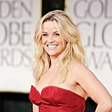 Reese Witherspoon at the Golden Globes.