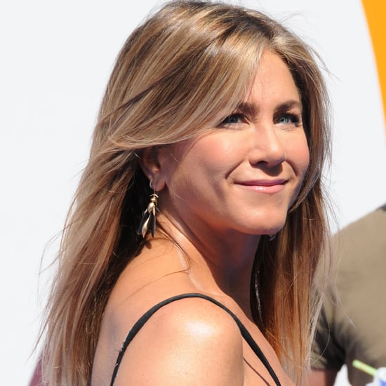 Jennifer Aniston Valentino Dress at LA Storks Premiere