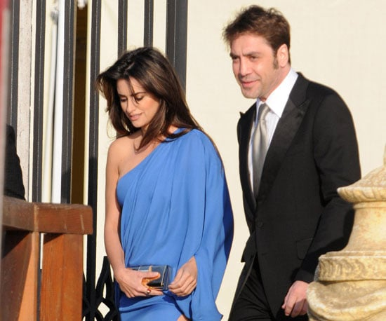 Photo of Penelope Cruz and Javier Bardem at Salma Hayek's Wedding