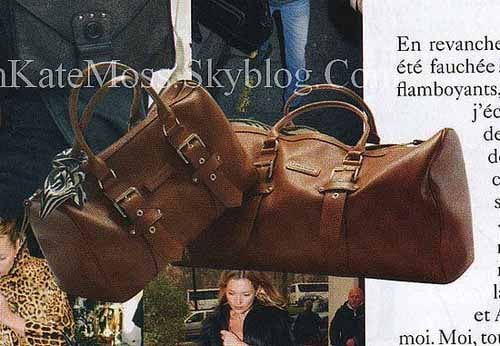 Model Kate Moss to Design Handbags For Longchamp 2010-01 ...