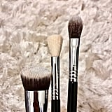 Makeup Brushes After Cleansing