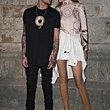 When Both of Their Outfits Had Similar Circular Designs