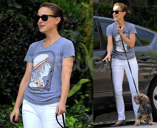 Photos of Natalie Portman After a Workout in LA