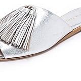 Loeffler Randall Kiki Tassel Slides ($350)