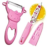 Hello Kitty Vegetable Peeler and Paring Knife ($7)