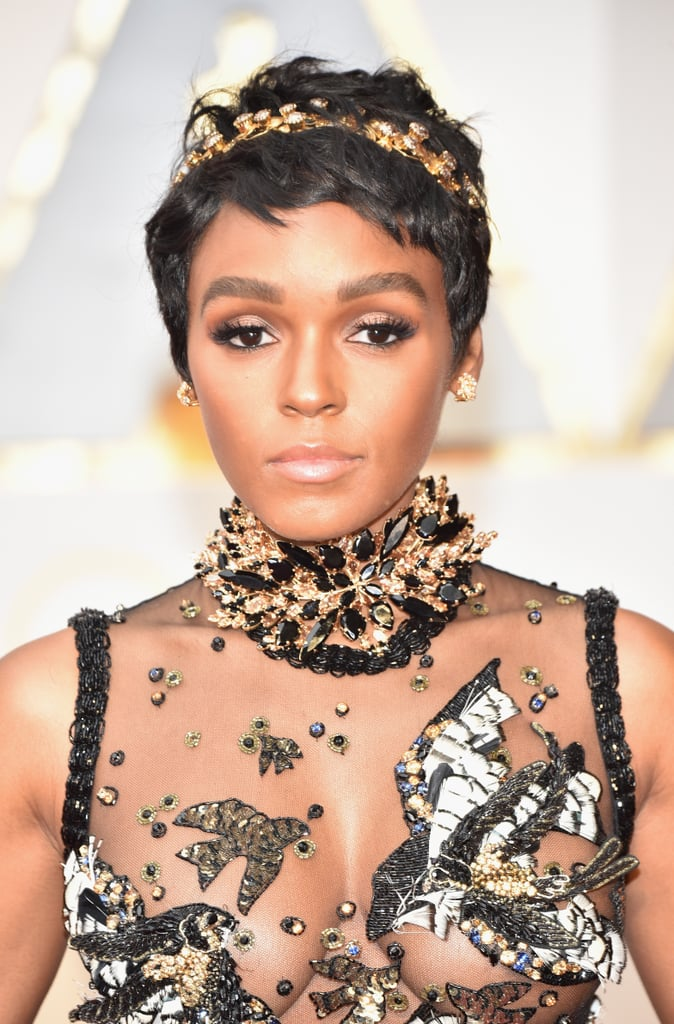 Janelle Monae Celebrity Short Pixie Haircuts At 2017