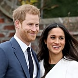 "Meghan on the night Harry asked her to marry him: ""It was just a cozy night. What were we doing? We were trying to roast a chicken."" Meghan on the first time she met Queen Elizabeth II: ""To be able to meet her through his lens, not just with his honor and respect for her as the monarch, but the love that he has for her as his grandmother . . . all of those layers have been so important for me so that when I met her, I had such a deep understanding and of course incredible respect for being able to have that time with her . . . She's an incredible woman."" Meghan on having Princess Diana's diamonds in her engagement ring: ""Everything about Harry's thoughtfulness and the inclusion of that, and obviously not being able to meet his mom, it's so important to me to know that she's a part of this with us."""