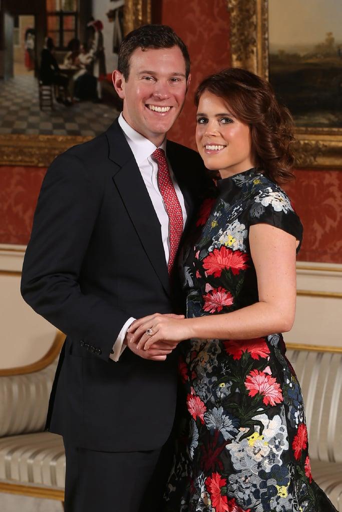 Who: Princess Eugenie and Jack Brooksbank