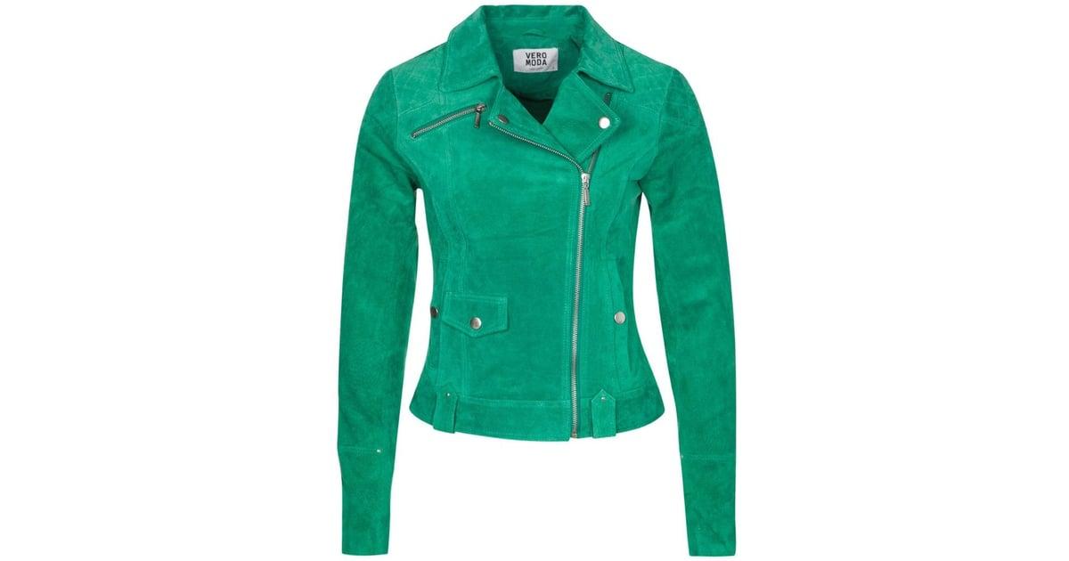 Vero Moda Anemone Leather Jacket (£90) | Best Leather Jackets For 2014 |  Pictures | POPSUGAR Fashion UK Photo 16