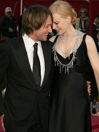 Nicole and Keith So In Love at the Oscars!
