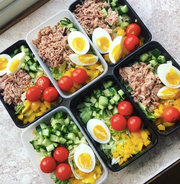 Salad Meal Prep Ideas Popsugar Fitness