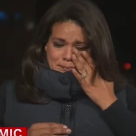 CNN's Sara Sidner Gets Emotional During COVID-19 Report