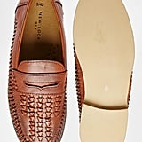 New Look Slip On Loafer with Woven Detail, $53
