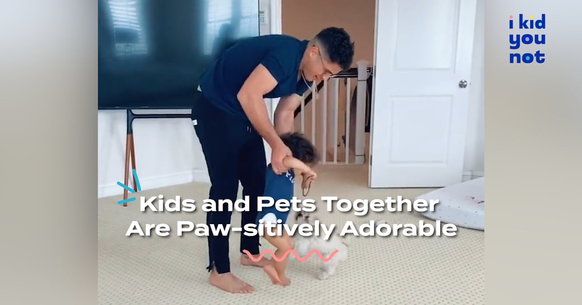 These Paws-itively Adorable Kids and Pets Will Have You Melting