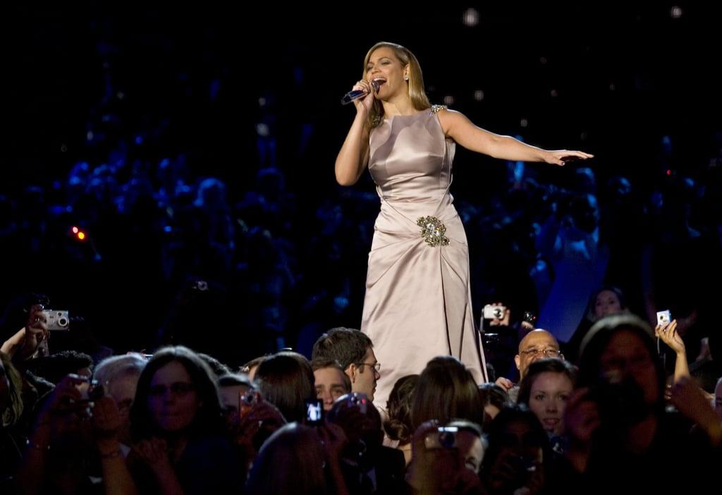 """When Beyoncé Sang """"At Last"""" at the 2009 Inaugural Ball"""