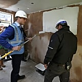 Prince William and Prince Harry Renovating Homes Sept. 2015
